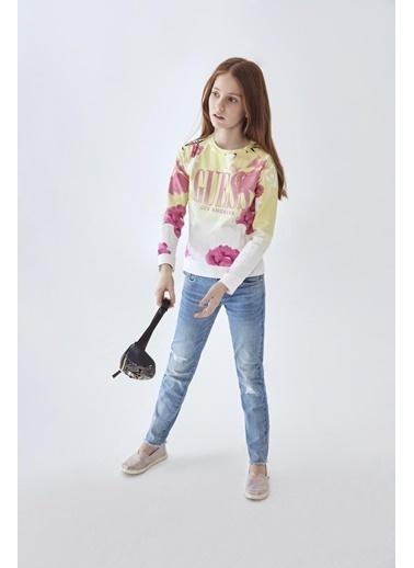 Guess Kız Çocuk Jean Pantolon 20SSGJ01A06 Lacivert